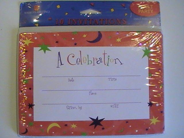 American Greetings A Celebration! Invitation Cards