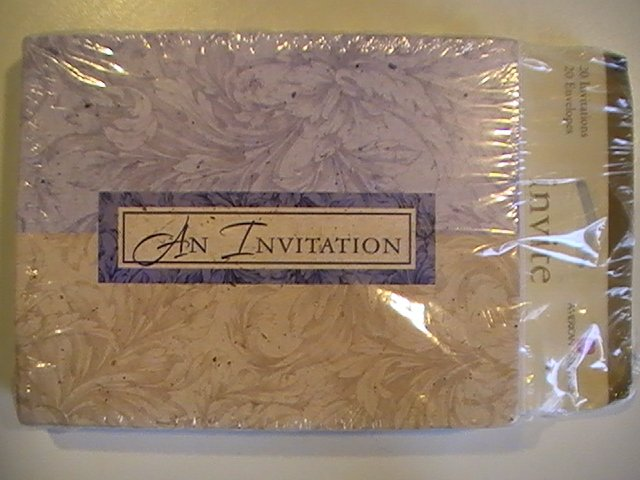 American Greetings -An Invitation-Invitation Cards