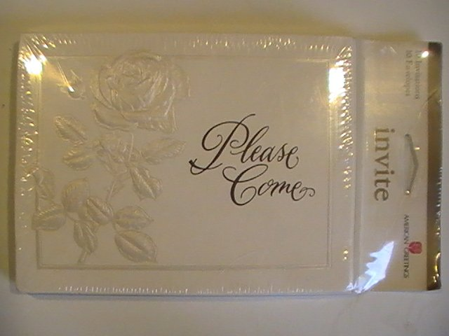 American Greetings Please Come Invitation Cards