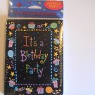 Amer. Greetings It&#39;s a Birthday Party Invitation Cards