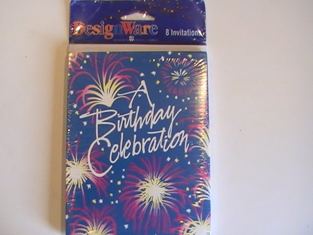 American Greetings A Birthday Celebration Invitations