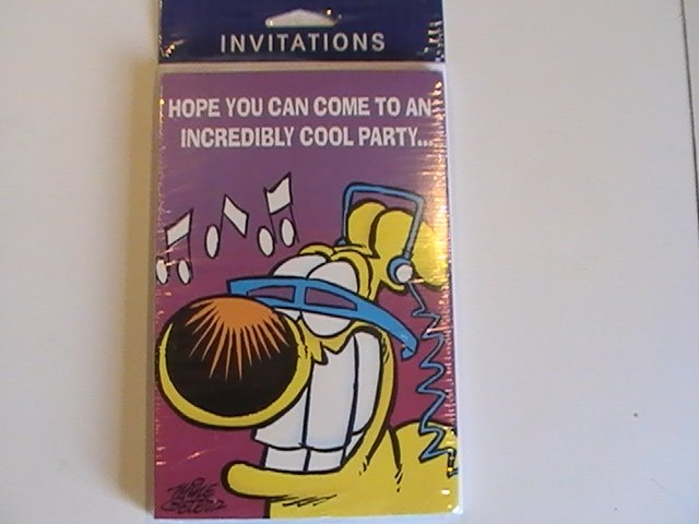 Gibson Cards ...Incredibly Cool Party Invitation Cards