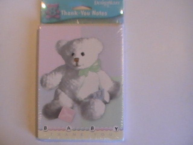 American Greetings Baby Shower Thank You Note Cards