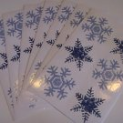 American Greetings SnowFlake Stickers (7 Sheets)