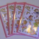 American Greetings Ballet Bears Stickers (4 Sheets)