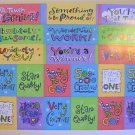 Amer. Greetings Confidence-Builder Stickers (2 Sheets)