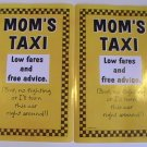 American Greetings MOM's TAXI Stickers (2 Sheets)