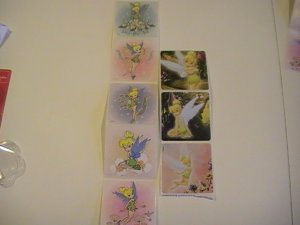 Disney Tinker Bell Fairy Stickers (8 Stickers)