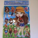Bratz Girls Craft Scrapbook Stickers