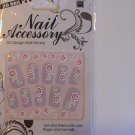 ProArt 3D Design Finger & Toe Nail Decoration Stickers