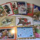 American Greetings Assorted Holiday Christmas PostCards