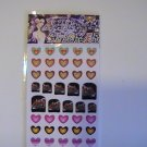 Princess Nail Shop Fingernail Decorations (40 Stickers)