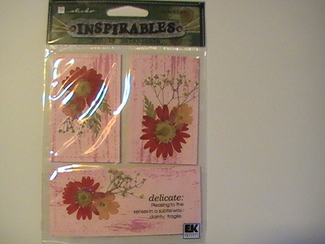 Inspirables Simply Botancal Craft Scrapbook Stickers