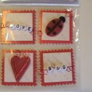 JoAnn Craft Essentials LOVE BUG Scrapbook Stickers