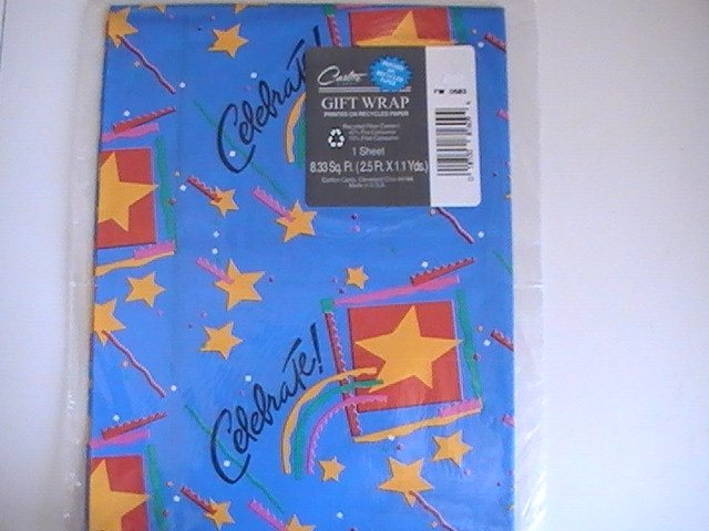Carlton Cards Celebration Gift Wrapping Paper
