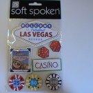 Soft Spoken Las Vegas Craft Scrapbook Stickers