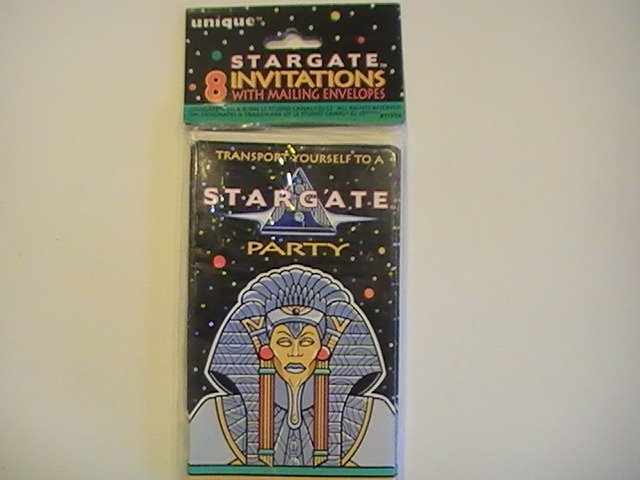 Unique STARGATE Party Invitation Cards