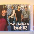 Hallmark Camp Rock Party Invitation Cards