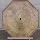 Custom Made Maple Crokinole Family Game Board #132