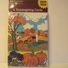 American Greetings Thanksgiving Cards (Irregular)