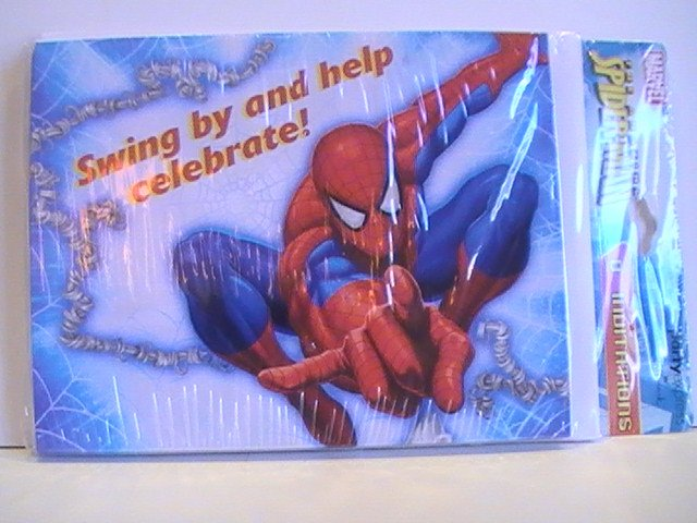 Party Express The Amazing Spider-Man Invitation Cards
