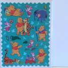 Hallmark POOH Scrapbook Stickers/Autocollants