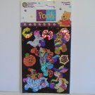 Sandylion Prismatic Halloween Pooh Scrapbook Stickers