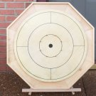 CUSTOM MADE MAPLE CROKINOLE FAMILY BOARD GAME #152