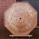 CUSTOM MADE OAK CROKINOLE FAMILY BOARD GAME #145