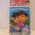 American Greetings Dora Explorer Birthday Invtation Cards