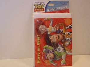 Hallmark Toy Story Party Invitation Cards