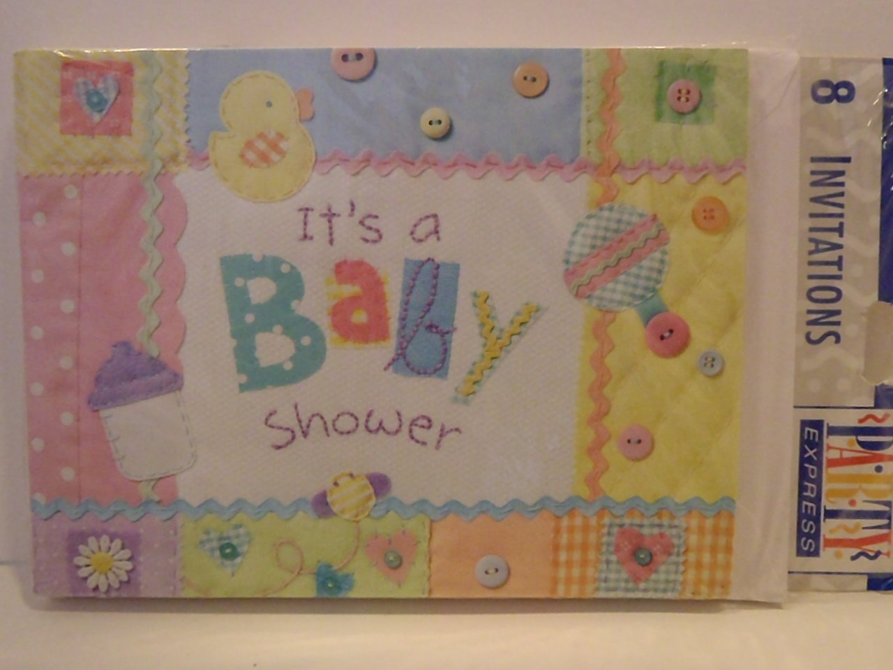 "Hallmark ""It's a BABY SHOWER"" Party Invitation Cards"