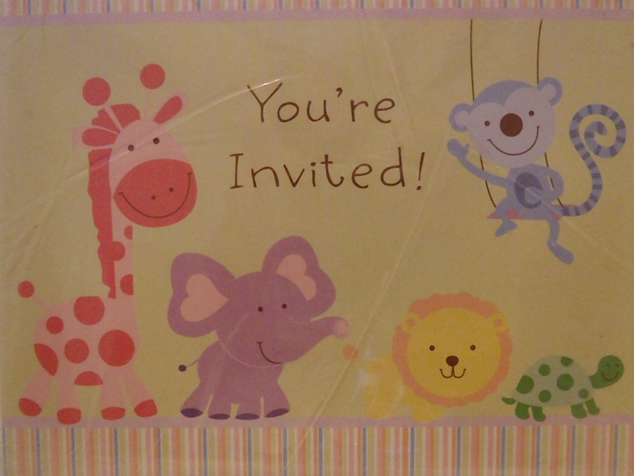 American Greetings Cute Party Invitation Cards