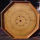 CUSTOM MADE OAK CROKINOLE FAMILY BOARD GAME #151