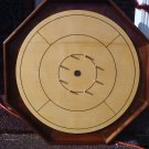 CUSTOM MADE WALNUT CROKINOLE FAMILY BOARD GAME #148