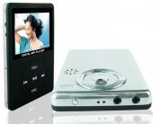 "8-in-1 MP4 Player Digital Camera, 2.4"" LCD, 512MB + SD Slot"