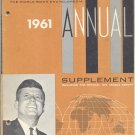 Vintage 60s (PB) Annual Supplement to The World Book Encyclopedia Vintage Book