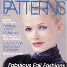 Fall 1999 McCall's Patterns Sewing Fashion Magazine