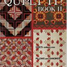 Vintage 70s McCall's Quilt It! Book II Quilting Magazine