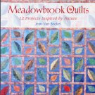 Meadowbrook Quilts (PB) Jean Van Bockel Quilting Book