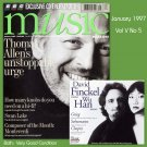 BBC Music Magazine & CD 1997 Vol V No 5 Grieg Chopin Schumann Swan Lake Finckel Wu Monteverdi