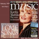 BBC Music Magazine 1997 Vol V No 6 & CD Renaissance Catherine Bott Virelai Debussy Karita Mattila