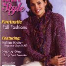 Knit 'n Style October 2004 Knitting Magazine