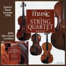 BBC Music 1996 String Quartet Issue & CD Haydn Beethoven Bartok Shostakovich Schubert Debussy