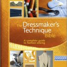The Dressmaker's Technique Bible (HB Spiral) Lorna Knight Sewing Book