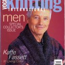 Vogue Knitting Special Collector's Issue 2002 Men Magazine