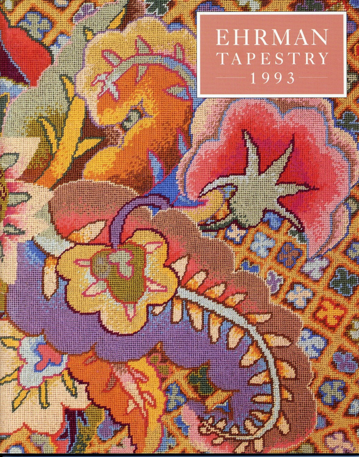 Ehrman Tapestry 1993 Catalogue (SC) Needlepoint Inspiration