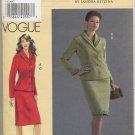 Vogue 8204 Sandra Betzina Jacket Skirt Designer Sewing Pattern GHIJ 24W 26W 28W 30W Formal Couture
