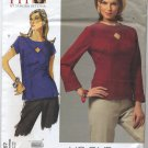 "Vogue 2967 Tops Sandra Betzina Sewing Pattern Misses' OSZ: A-J Bust 32""-55"" Princess Seaming"