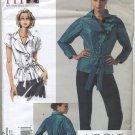 "Vogue 1017 Blouse Sandra Betzina Sewing Pattern Misses' OSZ: A-J Bust 32""-55"" Office Back Vent"